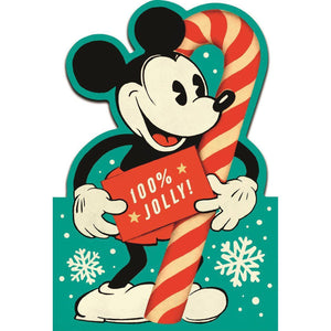 Disney Mickey Mouse Christmas Card