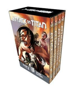 Attack On Titan Season 2 Manga Box Set, Poptastic,