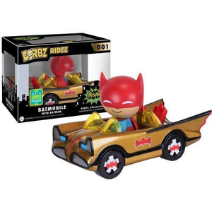 Batmobile Dorbz Ride On, Poptastic, Funko Pop UK, Funko Pop Vinyl, Weston Super Mare, Pop Vinyl