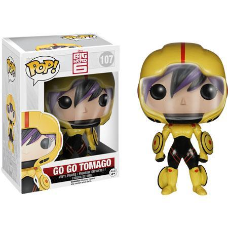 Disney Big Hero 6 Funko Pop - Go Go Tomago (Box Damaged)-Poptastic Weston Super mare