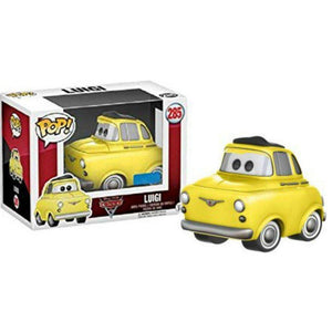 Disney Pixar Cars 3 Funko Pop - Luigi-Poptastic Weston Super mare