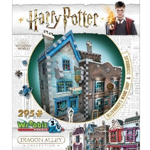 Harry Potter 3D Puzzle - Diagon Alley Collection - Ollivanders & Scribbulus