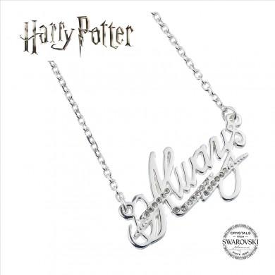 Harry Potter Always Necklace Embellished with Swarovski Crystals