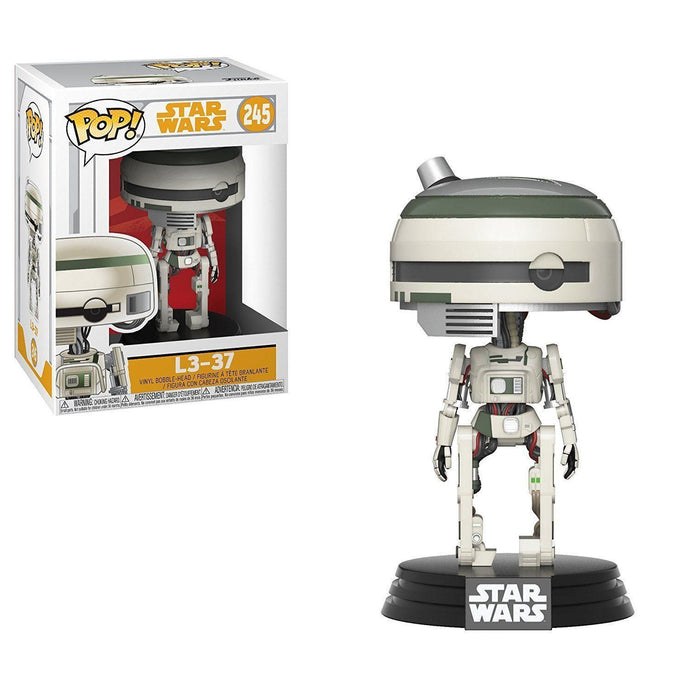 Star Wars Solo Funko Pop - L3-37-Poptastic Weston Super mare
