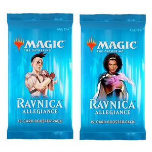 Magic The Gathering - Ravnica Allegiance Booster, Poptastic,