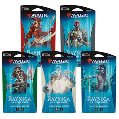 Magic The Gathering - Ravnica Allegiance Theme Booster, Poptastic,