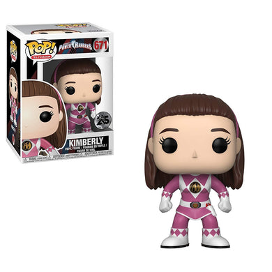 Power Rangers Funko Pop -Pink Ranger Kimberly