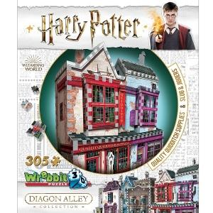 Harry Potter 3D Puzzle - Quidditch Supplies & Slug & Jiggers, Poptastic,