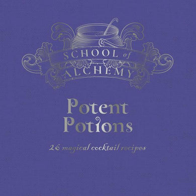 School of Alchemy Recipe Gift Book - Potent Potions, Poptastic,