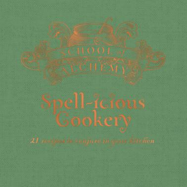 School of Alchemy Recipe Gift Book - Spell-icious, Poptastic,