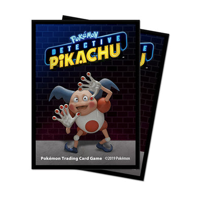Ultra Pro - Detective Pikachu - Mr Mime Deck Protector Sleeves (65 Pk)