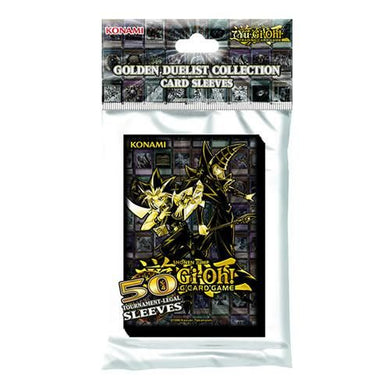 Yu-Gi-Oh! - Golden Duelist Card Sleeves (50 Pack), Poptastic,