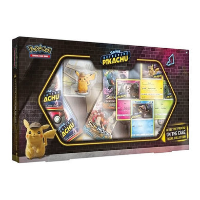 Pokemon - Detective Pikachu On The Case Figure Collection