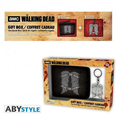 The Walking Dead Wallet and Keyring Gift Set