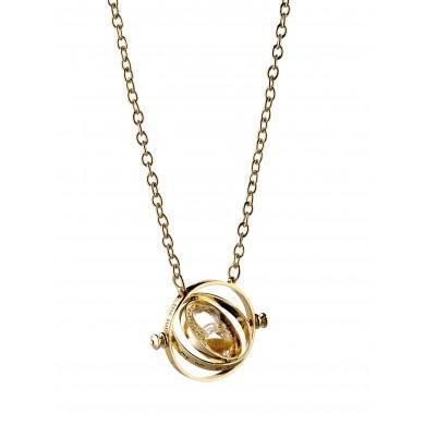 Harry Potter Spinning Time Turner Necklace-Poptastic Weston Super mare