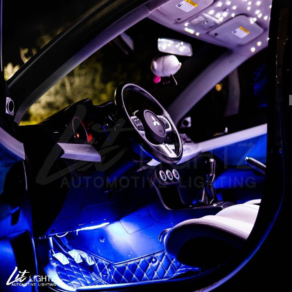 Color Chasing LED Interior Footwell Light Kit (Universal) Interior Kit Lit Lightz