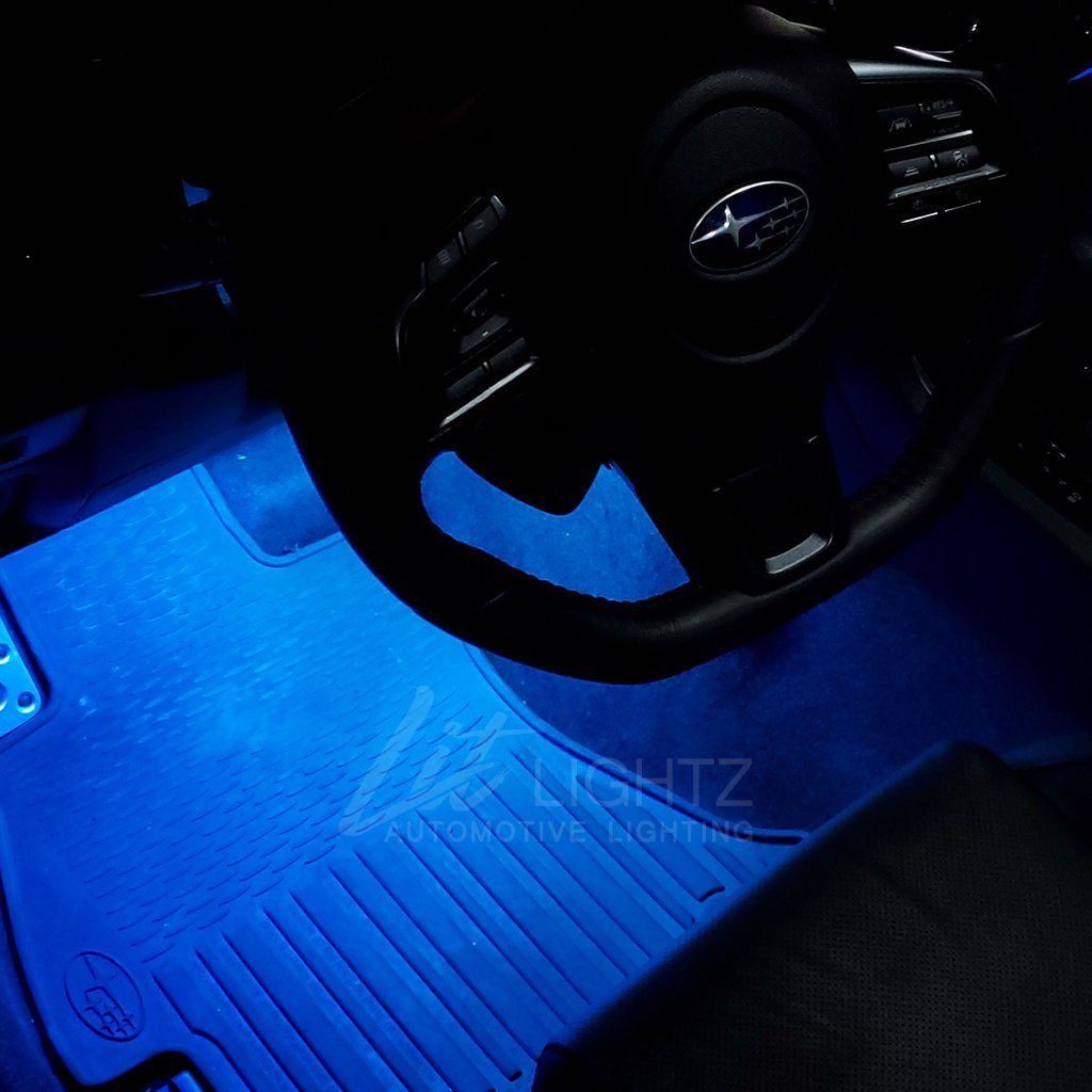 Color Chasing LED Interior Footwell Light Kit Subaru 2015+ WRX/STi Interior Kit Lit Lightz