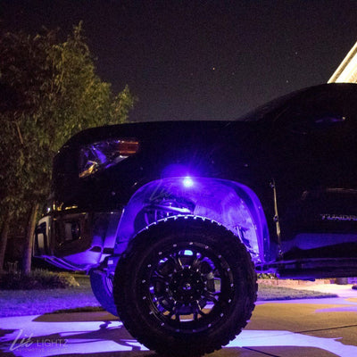 RGBW Rock Lights Exterior Kit Lit Lightz
