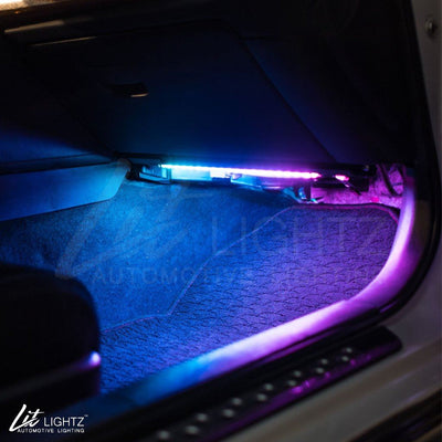Color Chasing LED Interior Footwell Light Kit FRS/BRZ/86 Interior Kit Lit Lightz