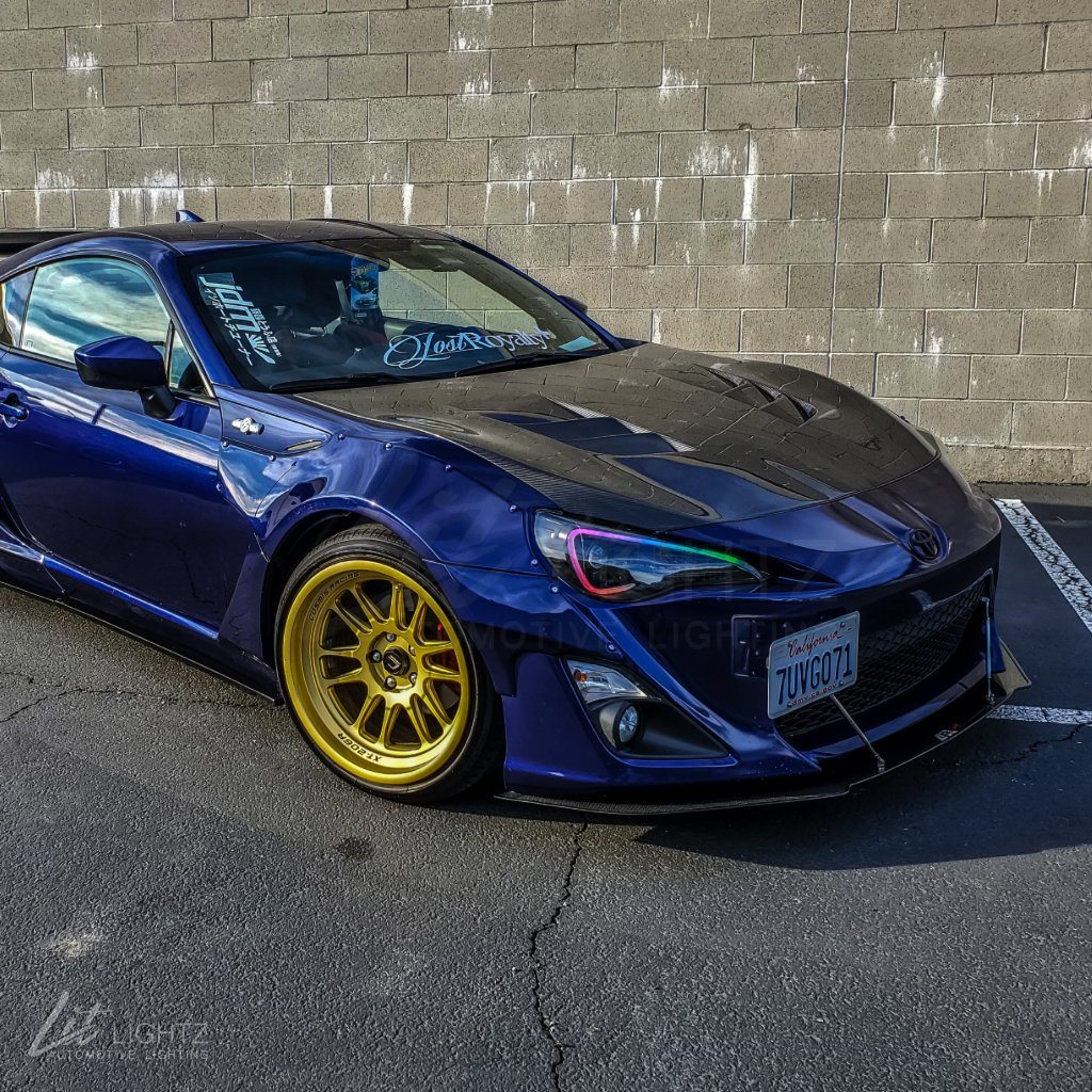 2013-2016 Scion FR-S Spec-D Color Chasing LED Boards - LitLightz.com