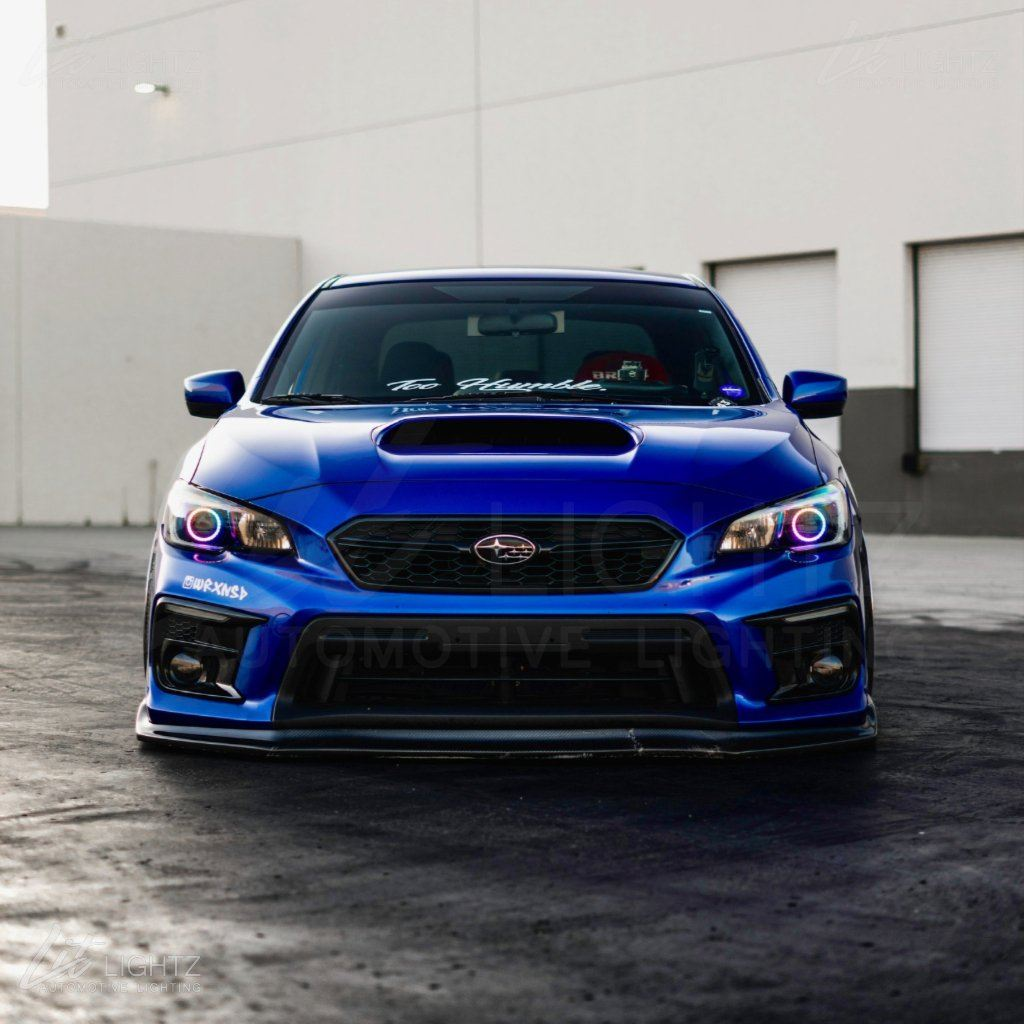 2015-2019 Subaru WRX/WRX STi Color Chasing LED Halo Kit Halo Kit Lit Lightz