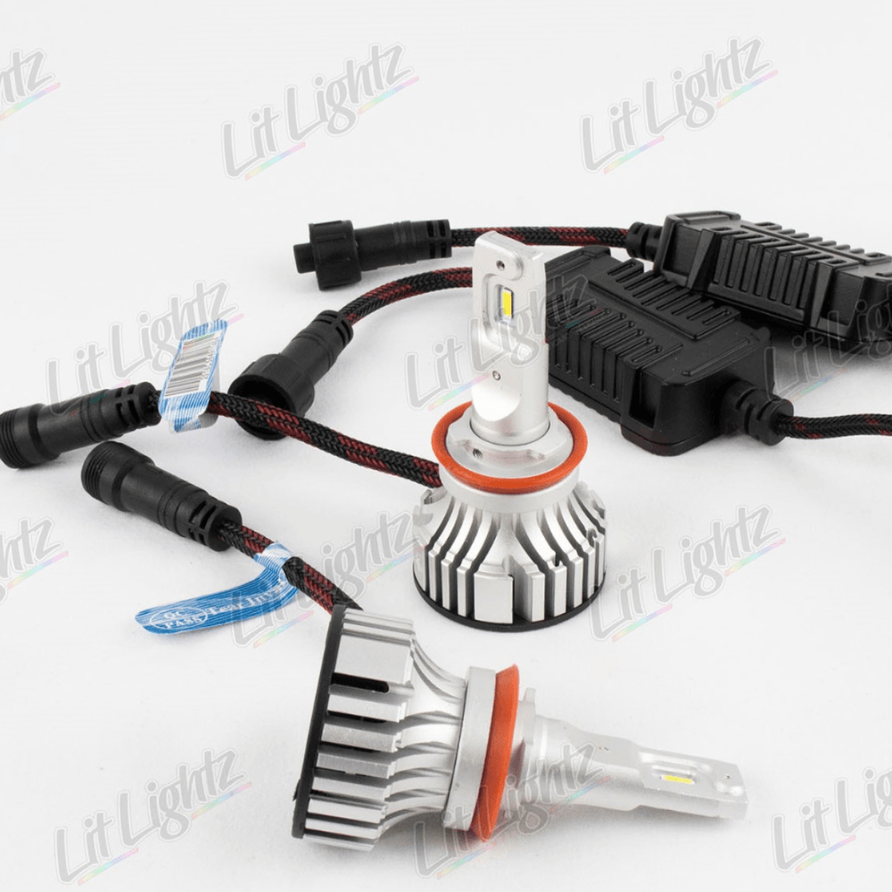 Low Beam LED Headlight 2008-2017 Mitsubishi Lancer - LitLightz.com