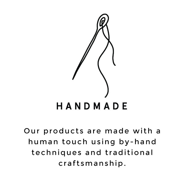 Raven + Lily carries products from by-hand techniques and traditional craftsmanship