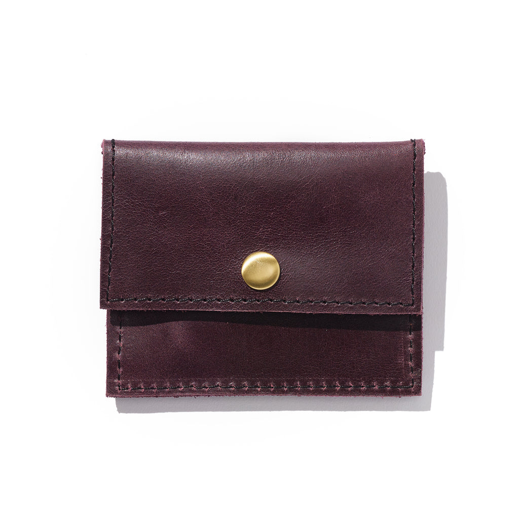 Addis Card Case // Fig - Raven + Lily