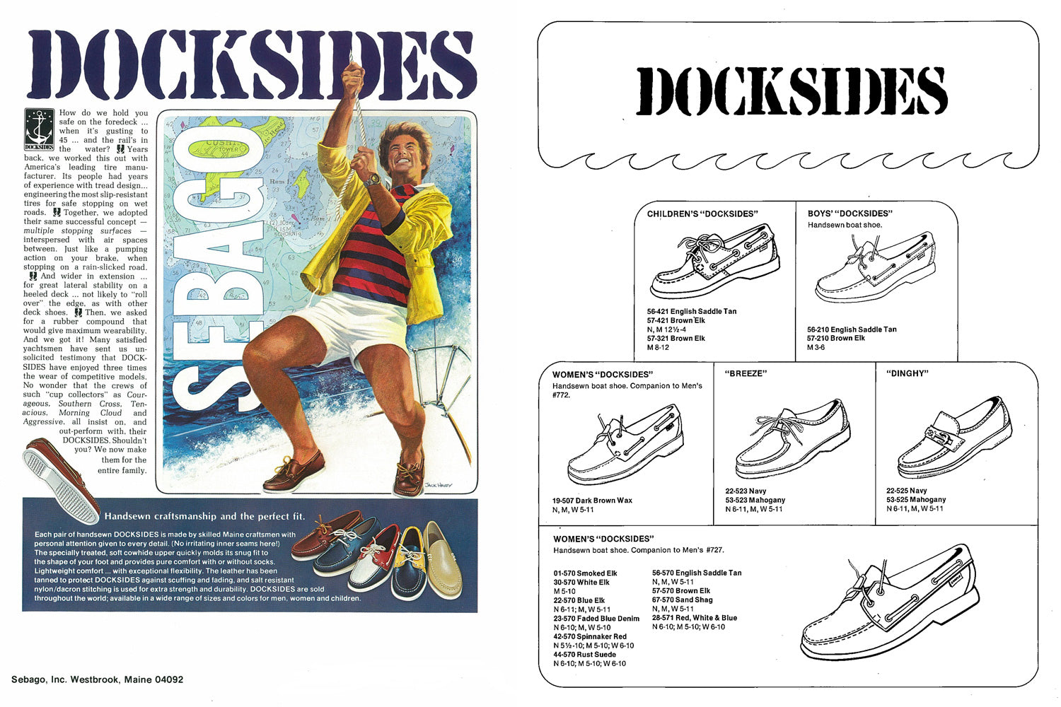 Sebago Docksides Launch