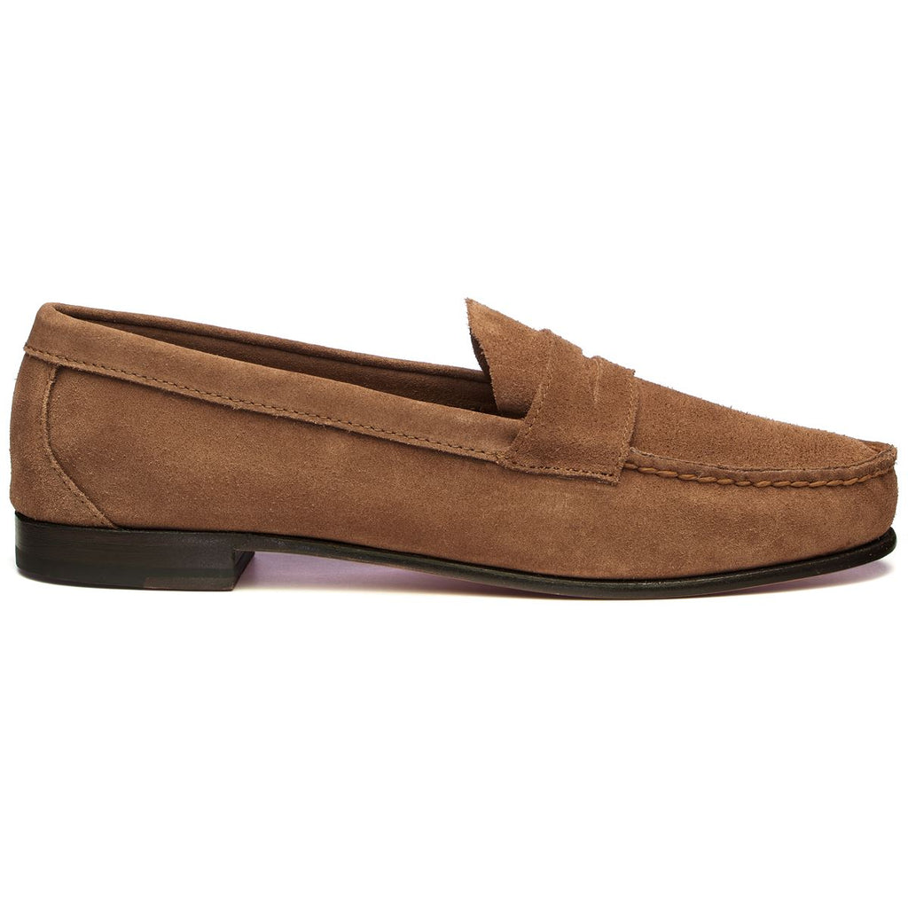 CLARK SUEDE - BROWN COGNAC