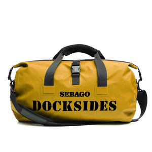 OVERHAND DUFFLE BAG - YELLOW GOLD