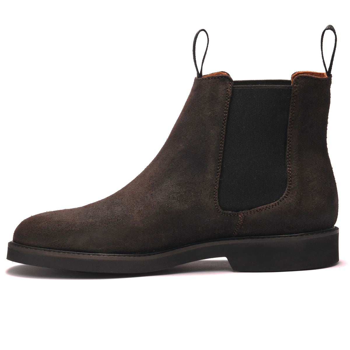 CHELSEA SUEDE POLARIS - DARK BROWN