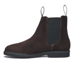 CHELSEA SUEDE POLARIS W - DARK BROWN