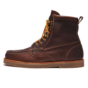 ROGDEN BOOT - DARK BROWN GUM