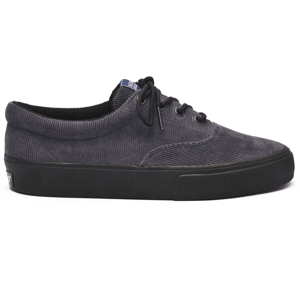JOHN CORDUROY W - DARK GREY / BLACK