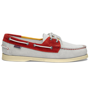 PORTLAND JIBS - OFF WHITE/RED