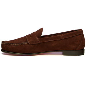 CLARK SUEDE - DARK BROWN