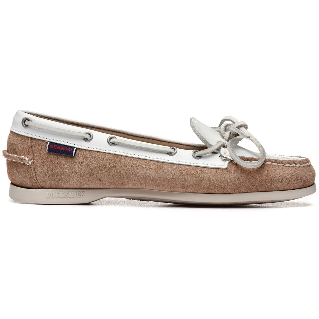 NINA SUEDE LEA W - LIGHT BEIGE WHITE