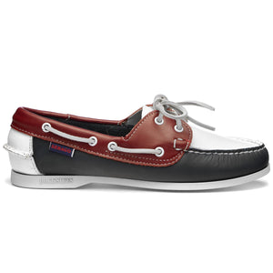 JACQUELINE SPINNAKER W- NAVY/RED/WHITE