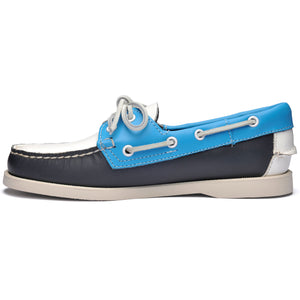 DOCKSIDE PORTLAND SPINNAKER - NAVY-LT BLUE-WHITE