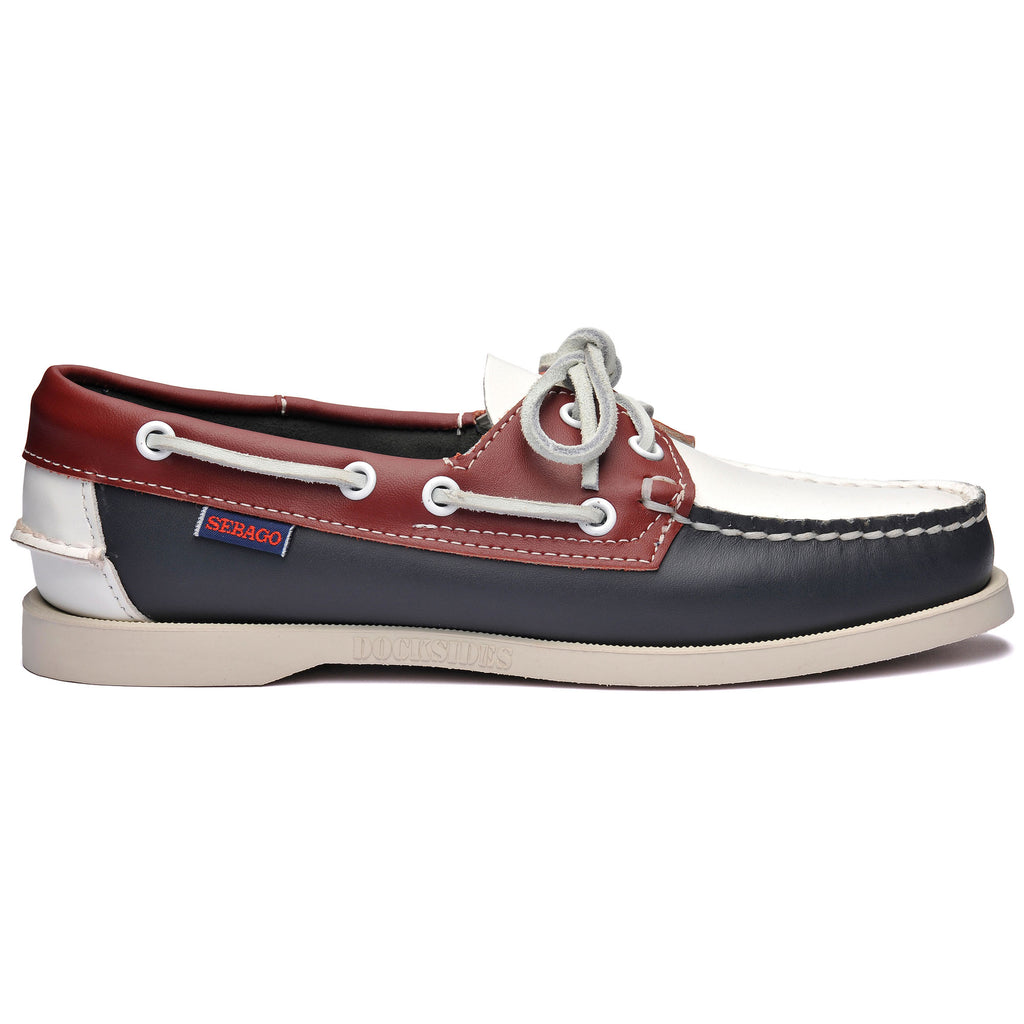 PORTLAND SPINNAKER W- NAVY/RED/WHITE