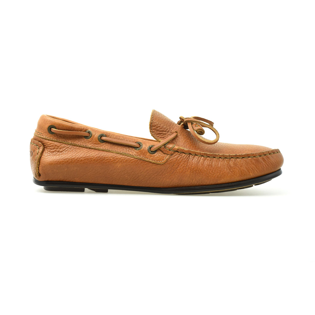 TIRSO TIED FGL TUMBELD - BROWN COGNAC