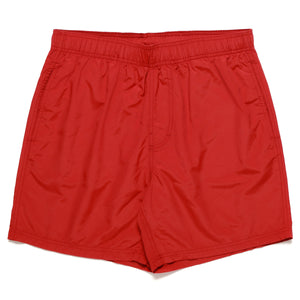BEND SWIM SHORT - RED
