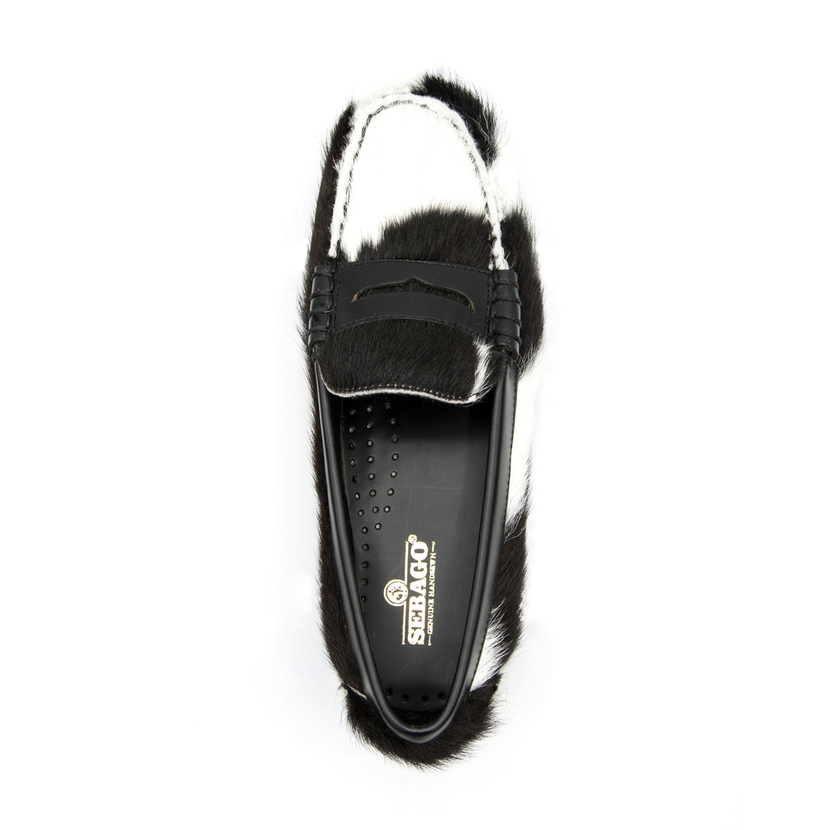 DAN COW WEDGE - BLACK