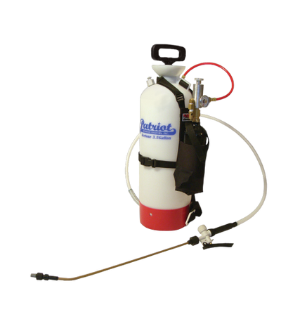Patriot 350 Pump Up Sprayer with CO2 Bottle, Pouch and Regulator Set
