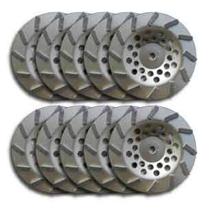 Econo Cup Wheels 12 Seg 7""