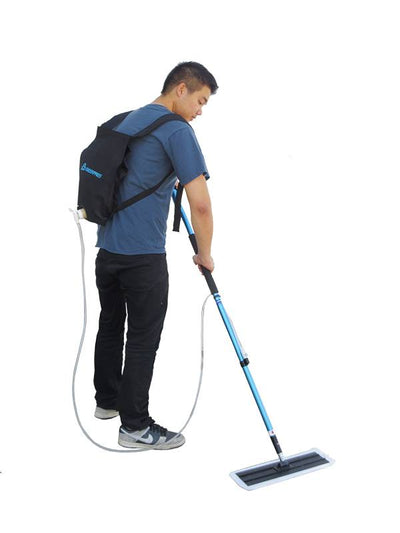 Backpack Applicator make floor applications easy