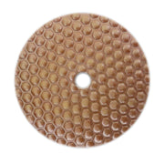 Econo Flexible Honeycomb Dry Polishing Pad 7""
