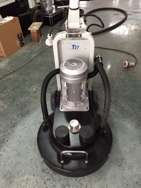 ASL-T27 High Speed Burnishing Machine - The ASL-T27 is a variable-speed burnisher with a 10 HP motor. The 27 inch disk diameter is perfect for any size floor.