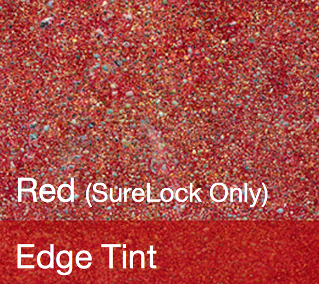 Red Ameripolish SureLock Dye - Color Sample Bottle